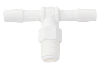 TEE CONNECTOR-INSERT FITTING