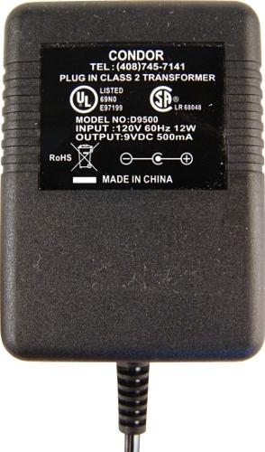 429EBP Databus Analyzer Battery Charger | 110V input, 9 VDC output