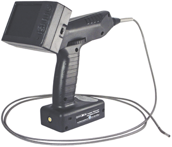 PORTABLE VIDEO RECORDING SCOPE/4MM, with Tungsten Sheathing, 1300mm Length