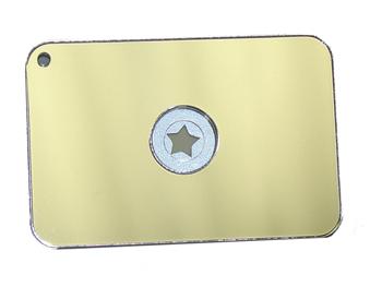 STARFLASH MARINE SIGNAL MIRROR/2x3