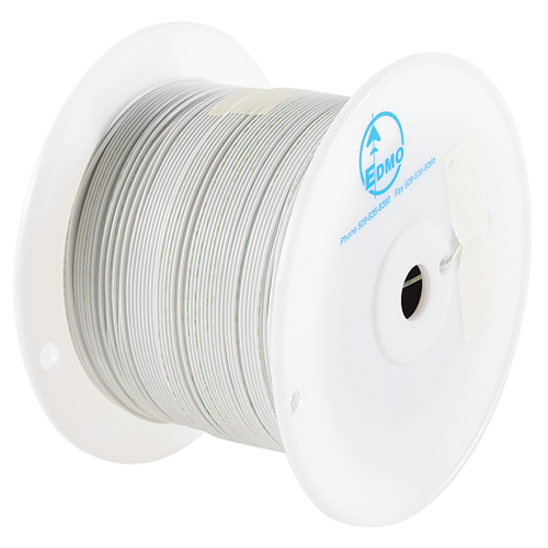 M22759/16 Extruded ETFE Tefzel Wire | 22 AWG, White