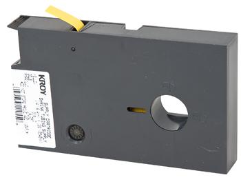Shrink Tube Cartridge / Black on Yellow / .125 in