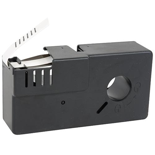 Shrink Tube Cartridge | Black on White, .125 x 110in