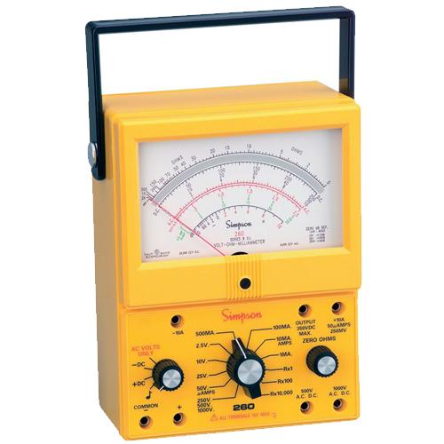 Simpson 260 Series 8XPI Analog Multimeter VOM