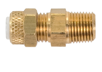 MALE CONNECTOR/BRASS/1/4