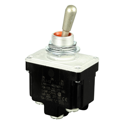 TL Series Micro Toggle Switch | DPDT, ON-ON-ON