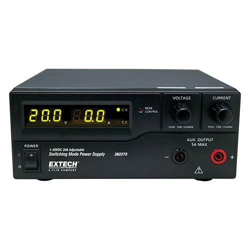 Extech 382275 DC Power Supply | 120V, 600W Switching Mode