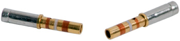 CONTACT SOCKET/For 22 gauge wire. Sealed, gold plated. M39029/22-191