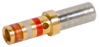 CONTACT SOCKET/For 20 gauge wire. Sealed, gold plated. M39029/22-192