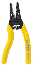 REFLEX PREMIUM 7-5 T-STRIPPER WIRE STRIPPER/14-24 solid, 16-26 stranded. Ergonomic handle design, curved handles.