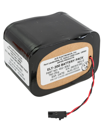 ELT 200 Replacement Battery | Alkaline, 2-Year