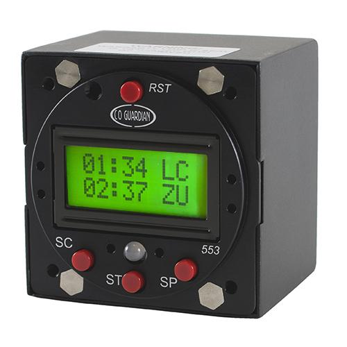 Aero 553-101 Panel Mount Digital Multi-Function CO Detector