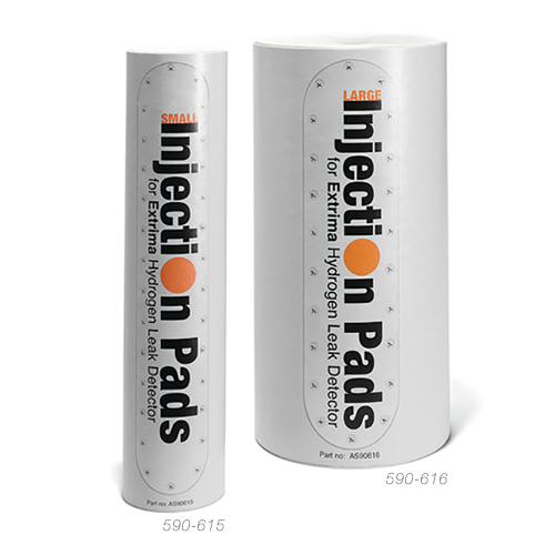 INJECTION PADS/Large, 150mm. For filling tracer gas into fuel tanks. Comes in package of 10 ea.