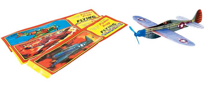 WWII Styrofoam Gliders | 48 per box