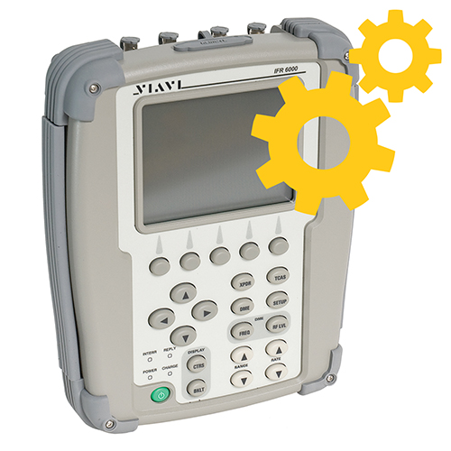 TCAS & TIS software option | IFR 6000 & 6015