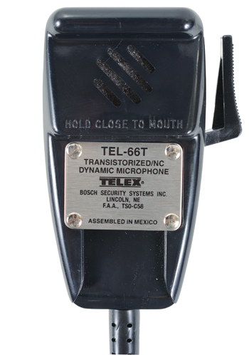 TEL-66T Dynamic Hand Microphone | Straight PJ-068 Plug