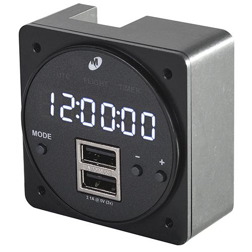 MD93 Series Digital Clock | Dual 2.1 Amp USB Charger