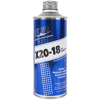 X-20-18 Aviation Brightwork Protection   16 oz Container