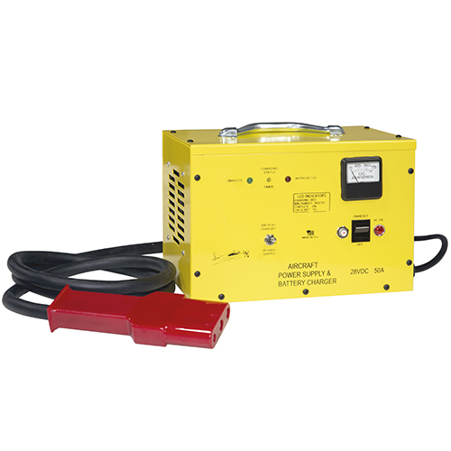 PS-2850 Series APU & Battery Charger | 50A, 28VDC, 60Hz