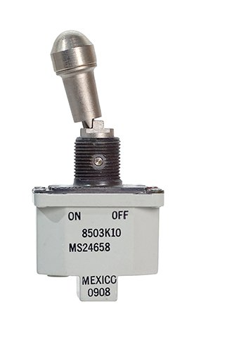 8503 Series Lever Lock Toggle Switch | SPST, ON-OFF, D, Environmentally Sealed