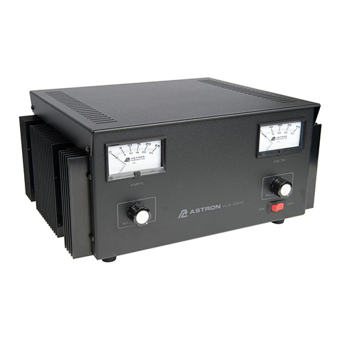 VLS-25M-220V Power Supply | 28VDC, 220V, 25A Variable, With Meters