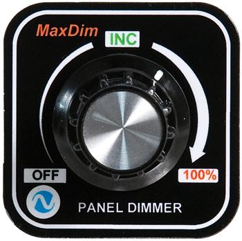 MaxDim Dimmer Control Unit | 12-35V, 12.5A, Spade Terminals