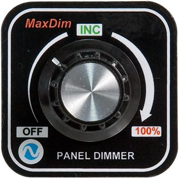 MaxDim Dimmer Control Unit | 12-35V, 15A, Ring Terminals
