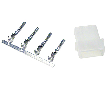 CONNECTOR KIT/3 position, male