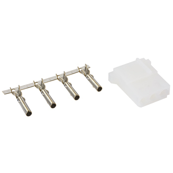 CONNECTOR KIT/3 position, female, includes sockets.