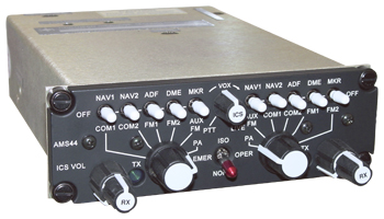 AMS44 Dual Channel Audio Controller