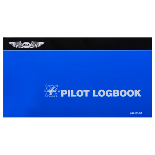 PILOT LOGBOOK/Blue, soft cover, 7-3/4 x 4-1/8, 16 pages.