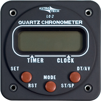 LC-2 CHRONOMETER/12V and 28V DC lamps, 24 hour elapsed timer with time-out or hold feature, month and date