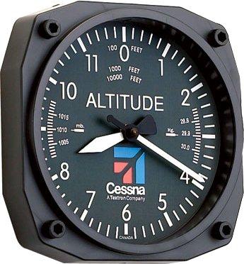 WALL CLOCK/Cessna Altimeter