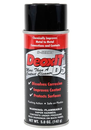 DeoxIT® D-Series Contact Cleaner & Rejuvenator | 5oz