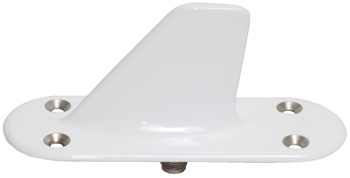 DME Transponder Blade Antenna   960-1220MHz, TNC Connector, L-Band, White