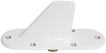 L BAND BLADE ANTENNA/6 hole mount, N connector, international orange