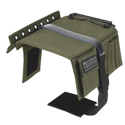 Pilot Kneeboard | With Eyelets and Clipboard, Green