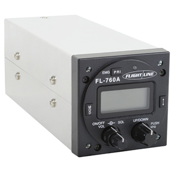 VHF Aircraft Transceiver Radio | 118 to 137 MHz, 11-33 V