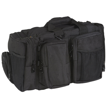 FlightLine Pilot Flight Bag | Black, Large, 21 Pocket