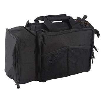 FlightLine Pilot Flight Bag | Black, Medium, 12 Pocket