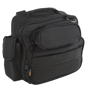 FlightLine Deluxe Pilot Headset Flight Bag | Black