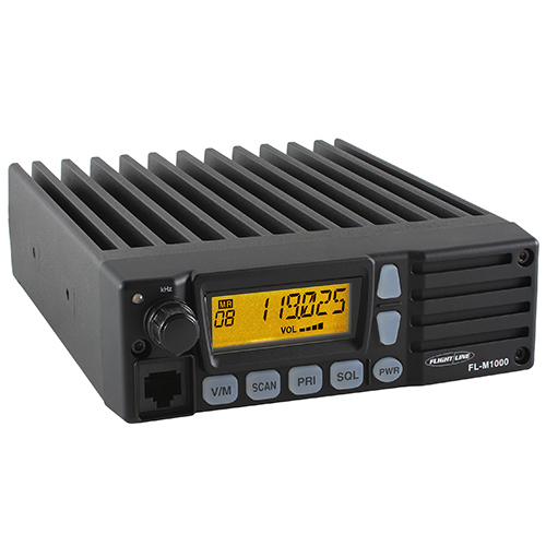 FL-M1000A VHF Air Band Transceiver | Land Mobile Radio, 118 to 136 MHz