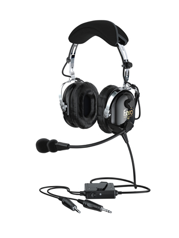 Faro™ G2 ANR Headset | Black, Active Noise Reduction