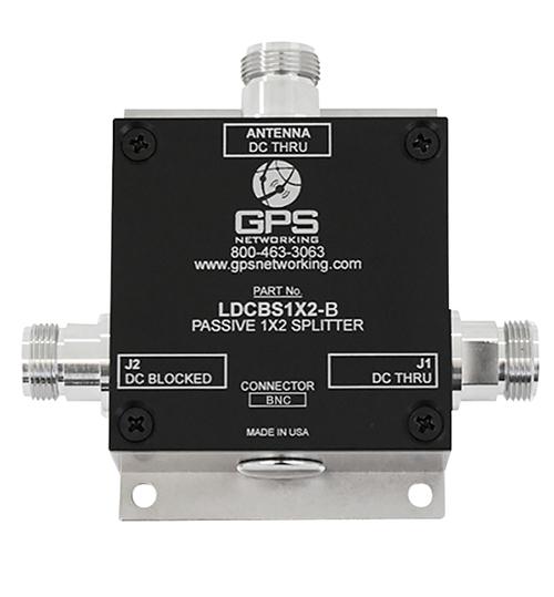 Passive GPS Antenna Splitter | 2 outputs, 1 input, BNC connectors