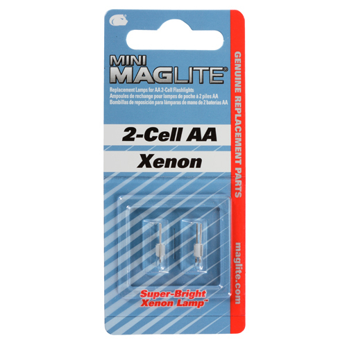 REPLACEMENT LAMPS/For use with MINI MAG-LITE AA, AAA. Comes in package of 2 ea.