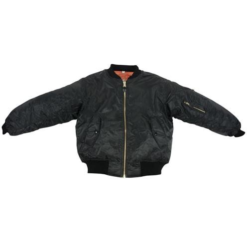 MA-1 Flight Jacket | Reversible, Black, Adult Large