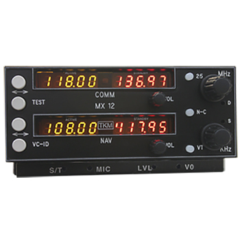 MX-12 NAV/COMM/slide-in replacement for Narco MK-12A NAV/COMM