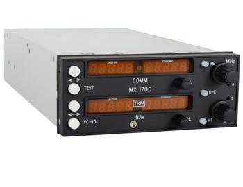 MX-170C NAV-COMM Radio   VOC/LOC, KX-170 Replacement