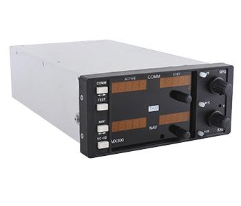 RT-300 NAV/COMM Replacement Radio   Black Faceplate