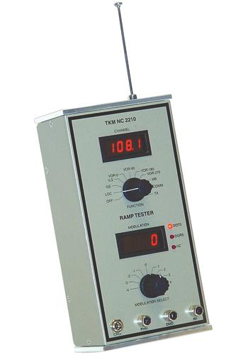 NC2210 NAV-COMM Ramp Tester